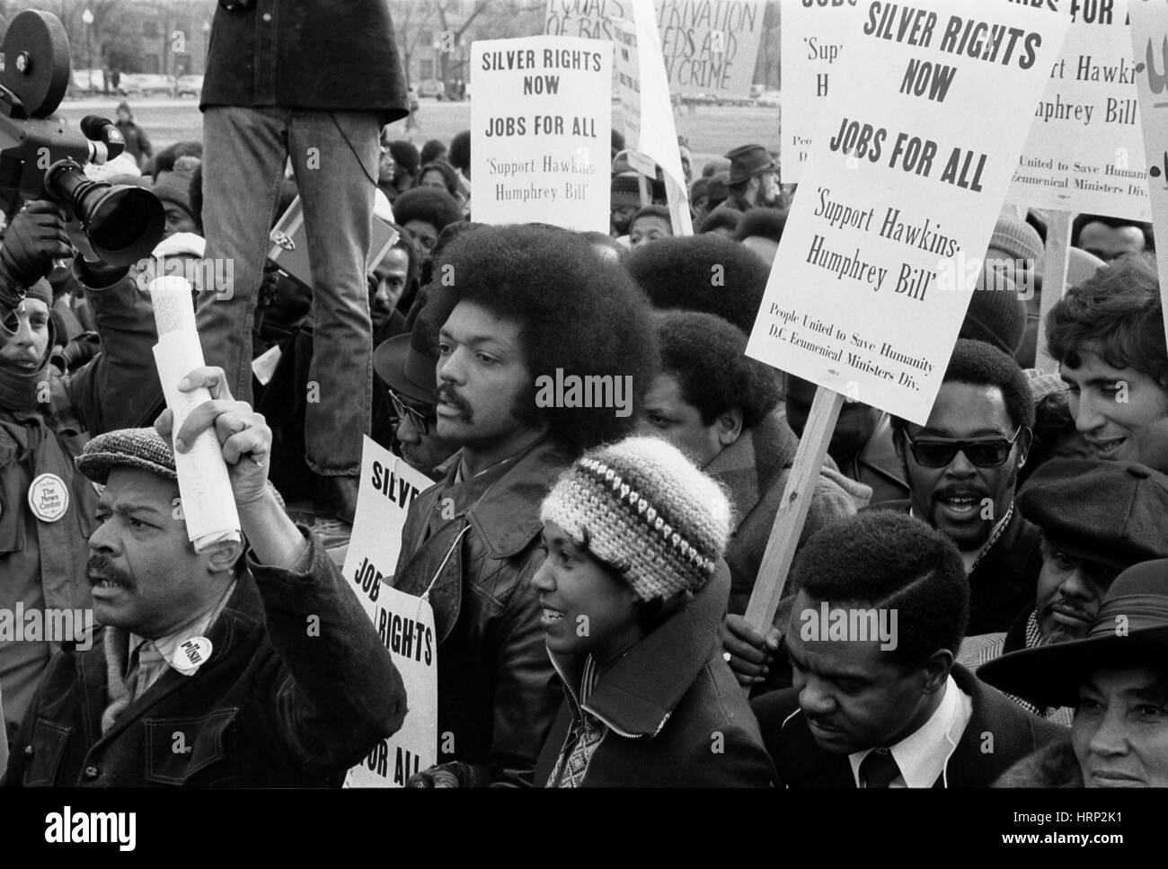 Jesse Jackson, Sr., Civil Rights Activist - Stock Image