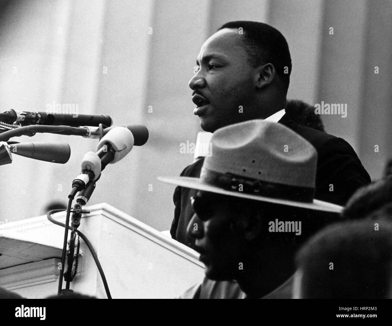 Martin Luther King Jr., March on Washington, 1963 - Stock Image