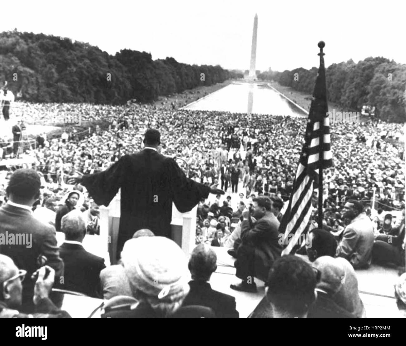 Prayer Pilgrimage for Freedom, 1957 - Stock Image