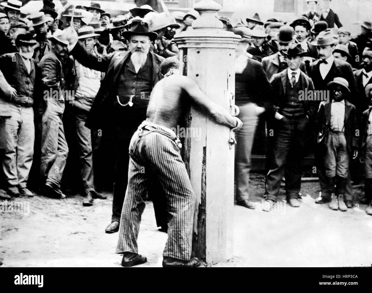 Whipping Post, 1900s Stock Photo