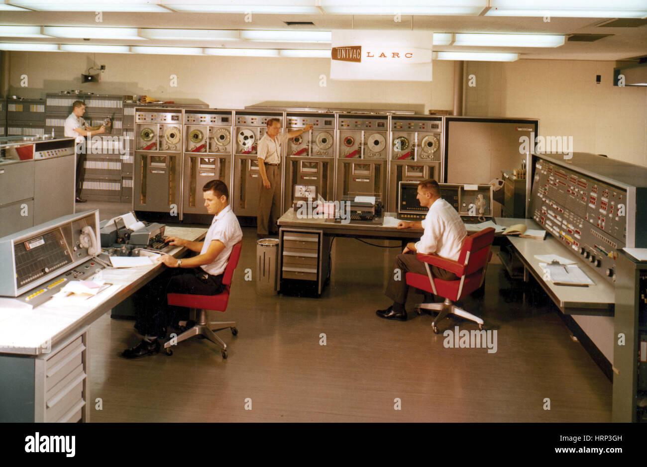 Livermore Advanced Research Computer, 1960 - Stock Image