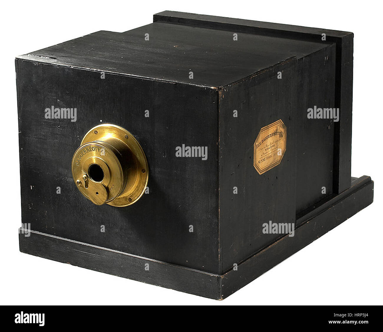 Daguerrotype Camera, c. 1830s - Stock Image
