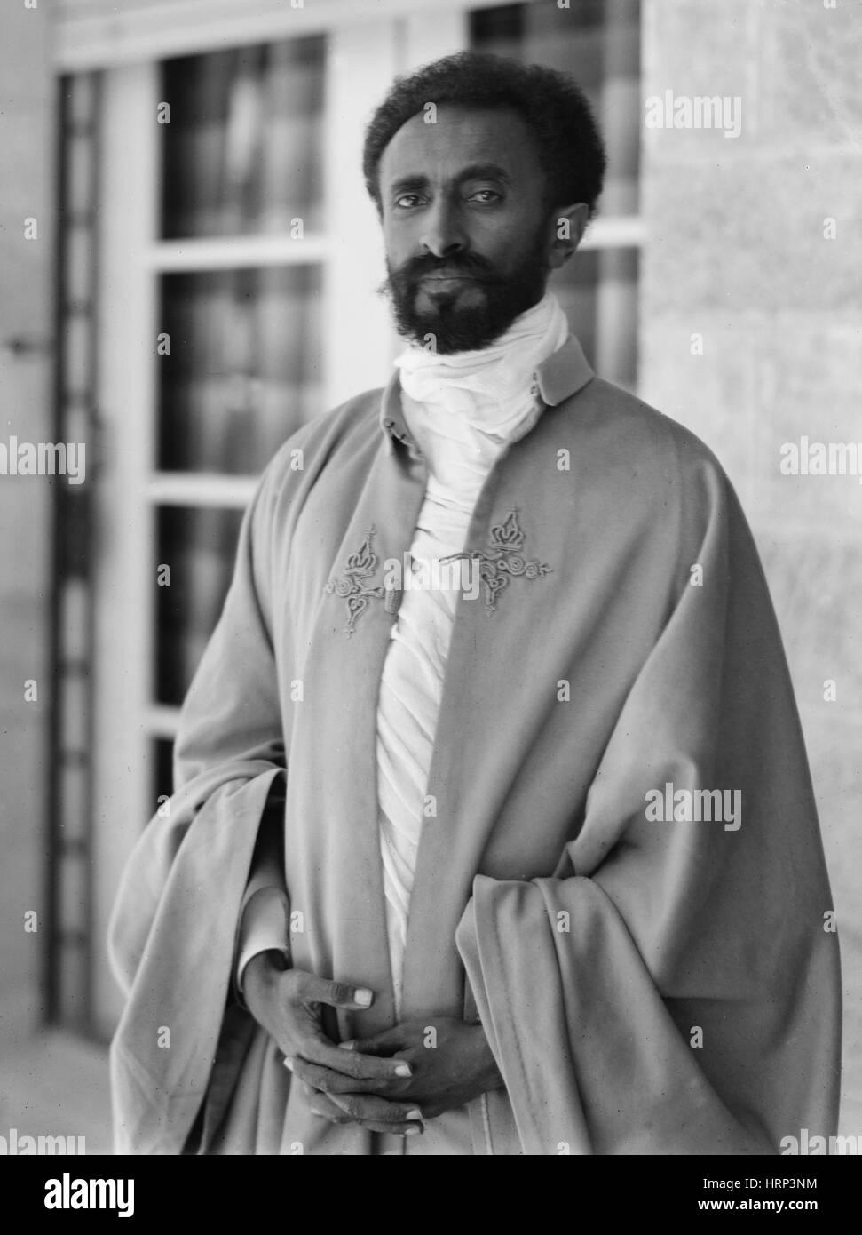 Haile Selassie, Regent of Ethiopia, 1923 - Stock Image