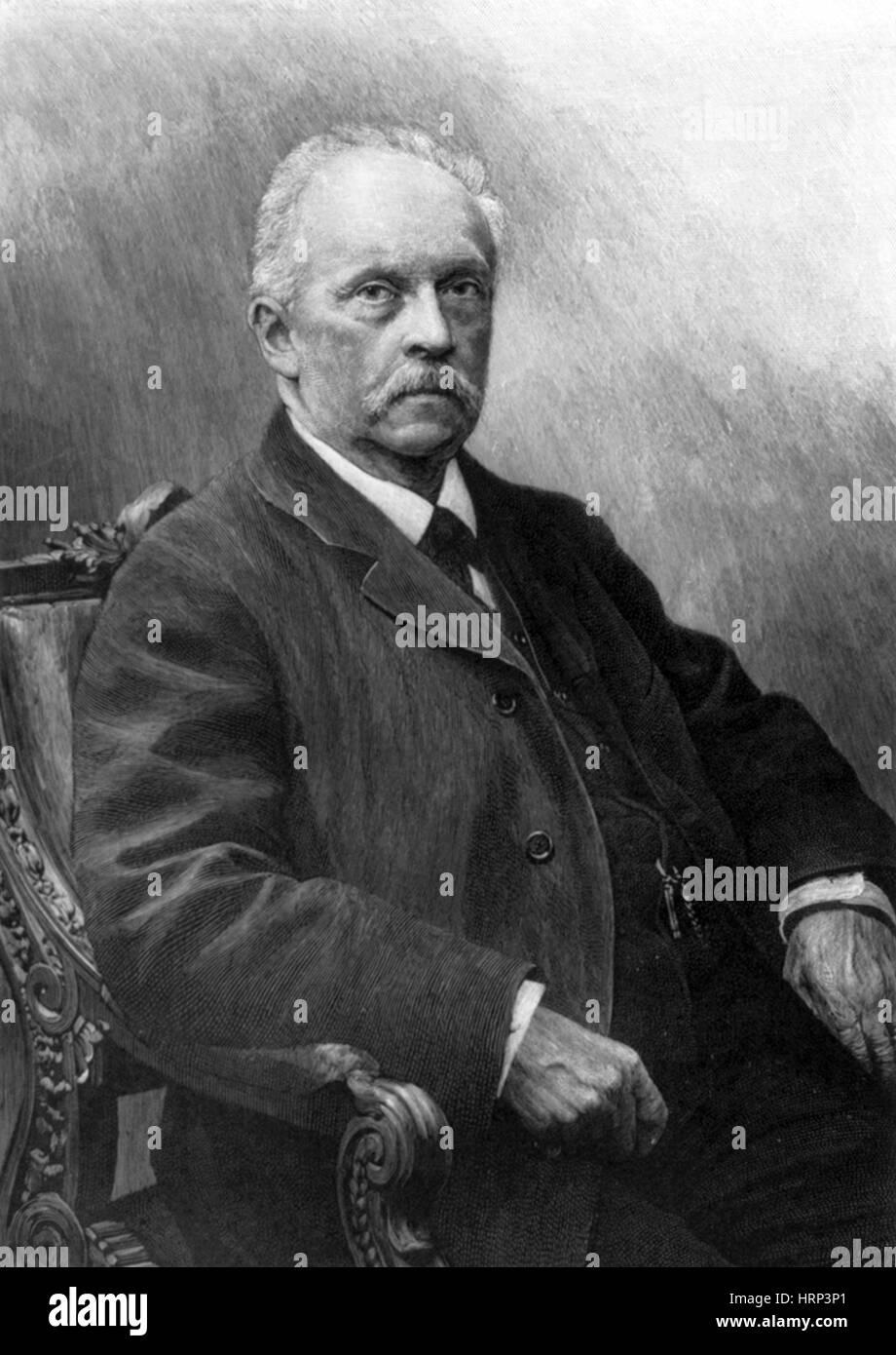 Hermann von Helmholtz, German Polymath - Stock Image