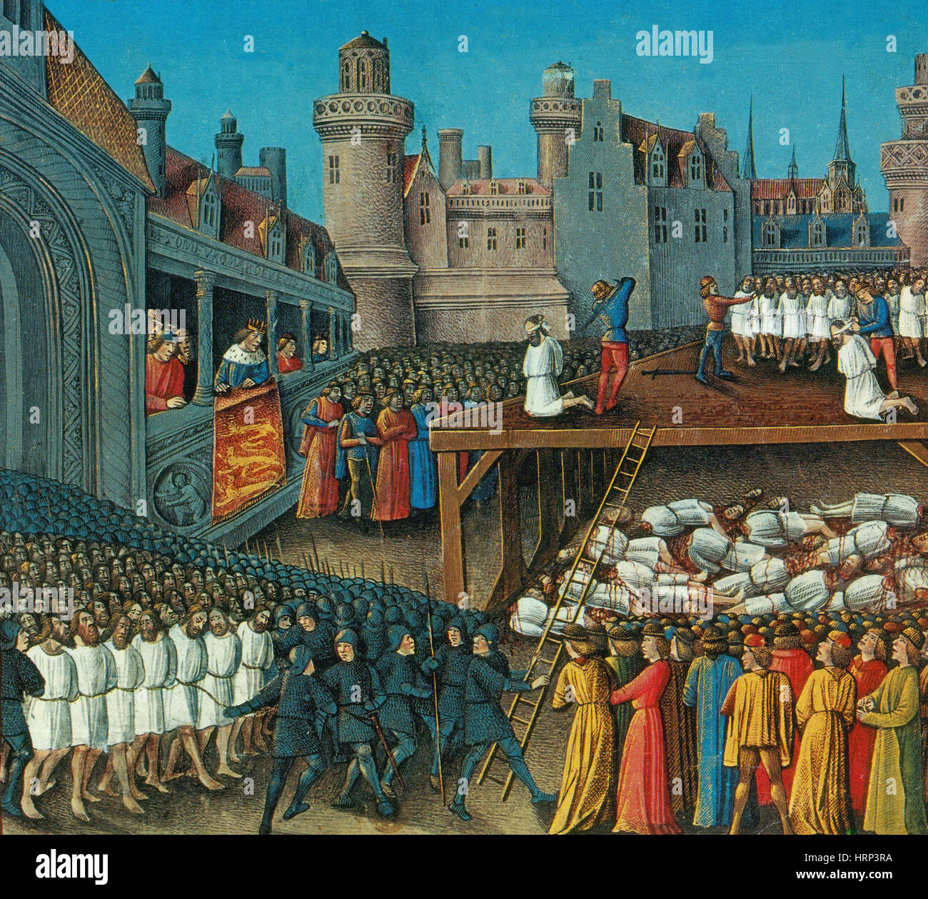Third Crusade, Saracen Hostage Massacre, 1191