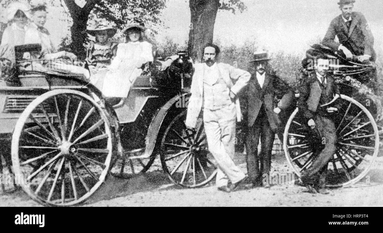 Karl Benz, German Engineer - Stock Image