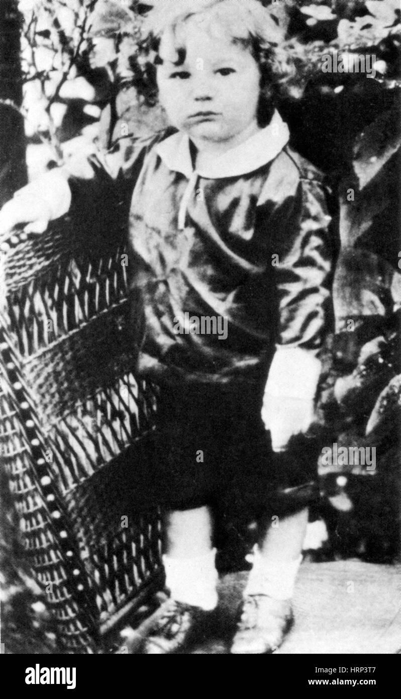 Young Fidel Castro, 1920s - Stock Image