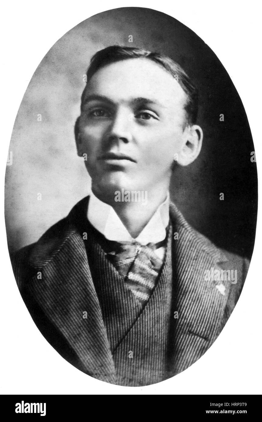 Edgar Cayce, American Psychic Stock Photo: 135095641 - Alamy