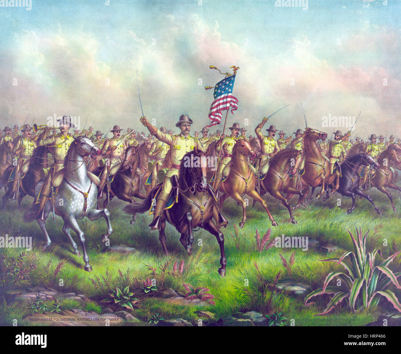 First United States Volunteer Cavalry member - …