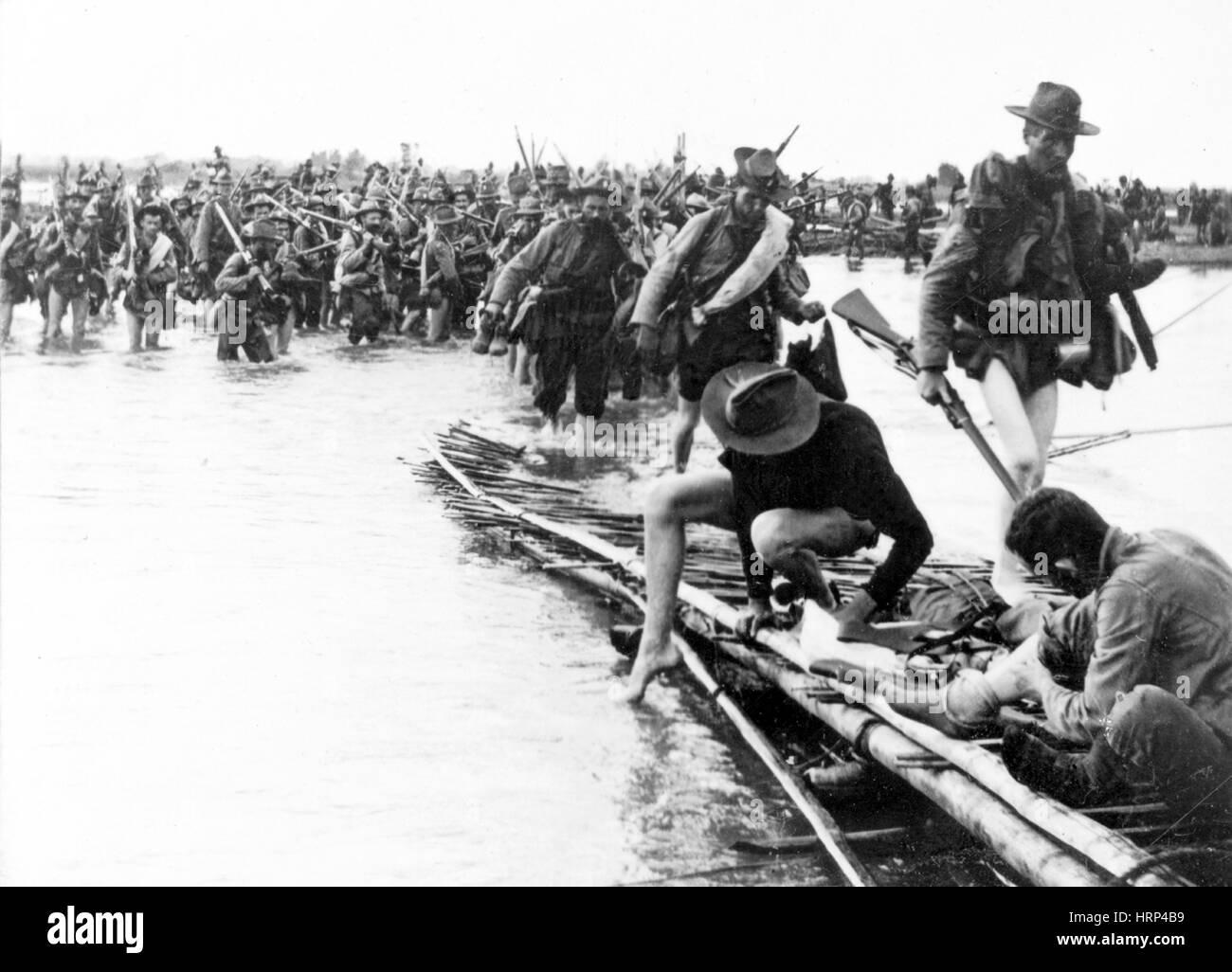 Philippine-American War, 1899-1902 - Stock Image