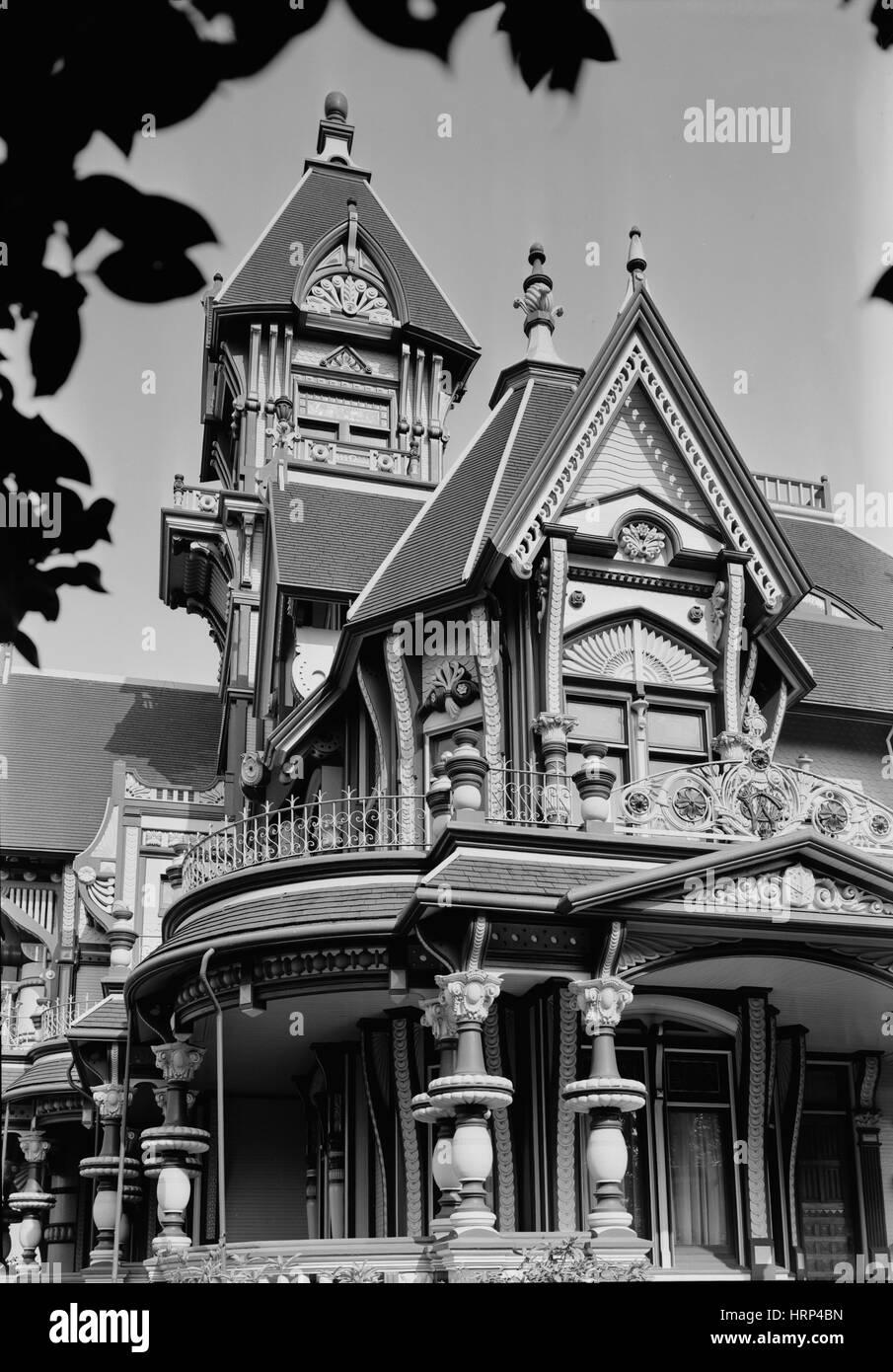 Carson Mansion, 1960 - Stock Image