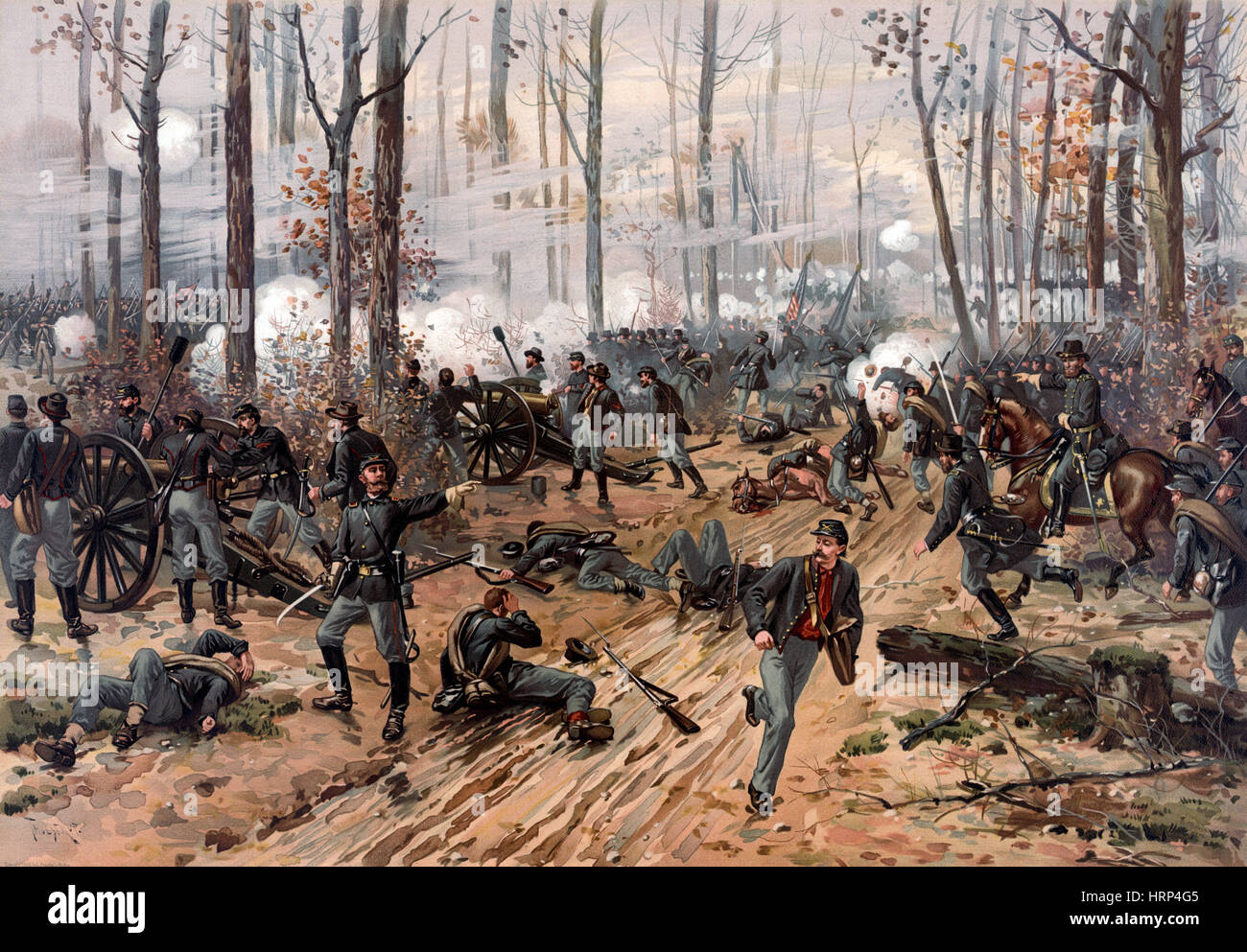 American Civil War, Battle of Shiloh, 1862 - Stock Image