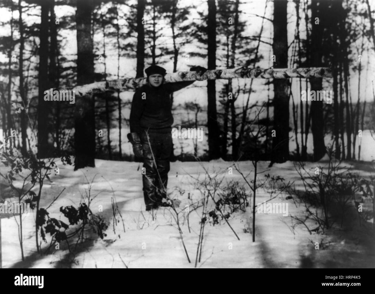Babe Ruth, American Baseball Legend - Stock Image