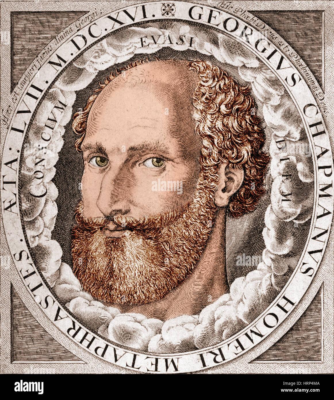 Homer, Ancient Greek Epic Poet - Stock Image