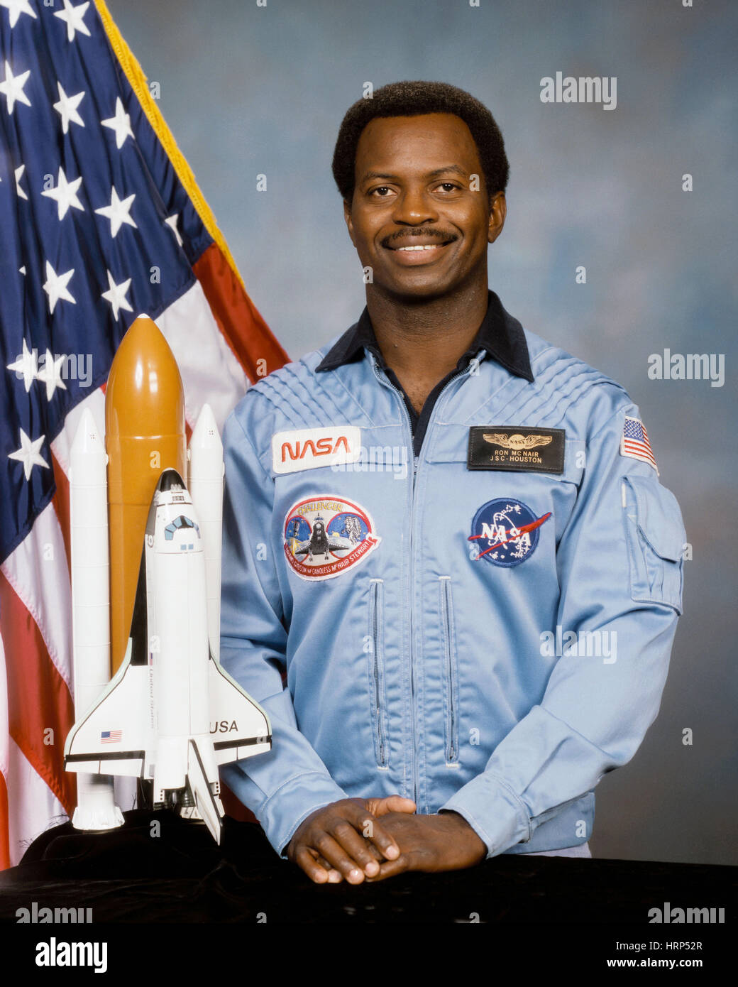 Ronald E. McNair, STS-51L Mission Specialist - Stock Image