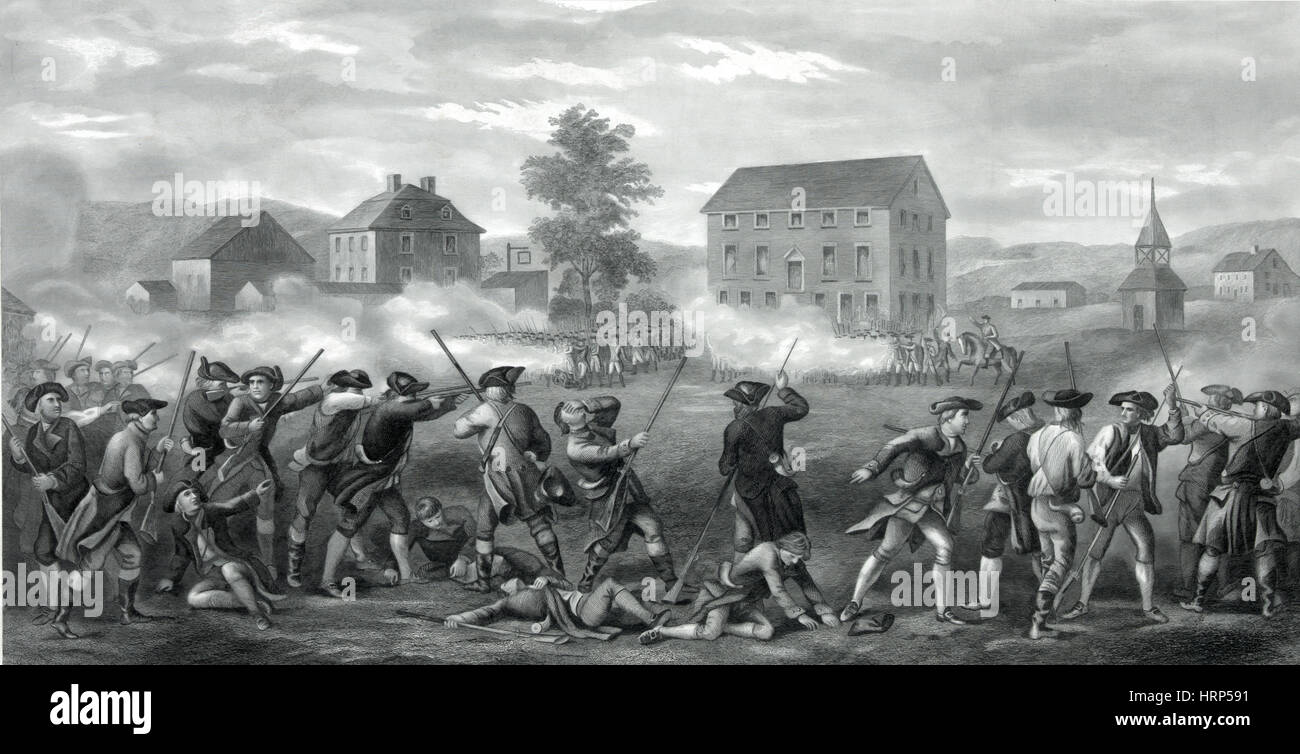 Image result for the battle of lexington 1775 images