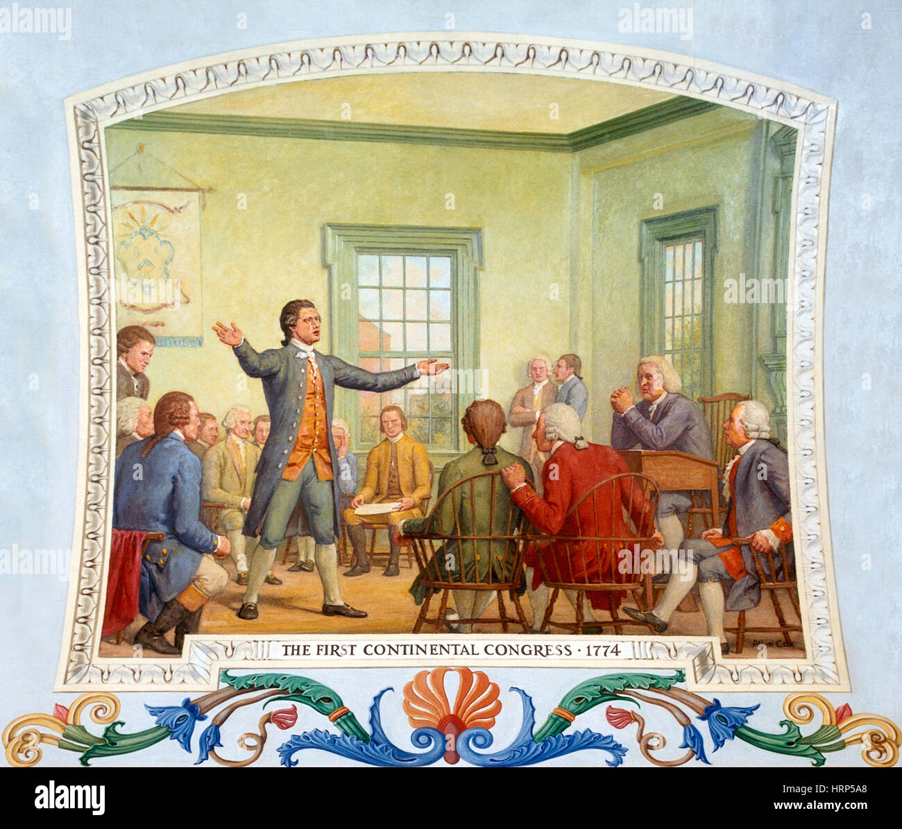 Patrick Henry, First Continental Congress, 1774