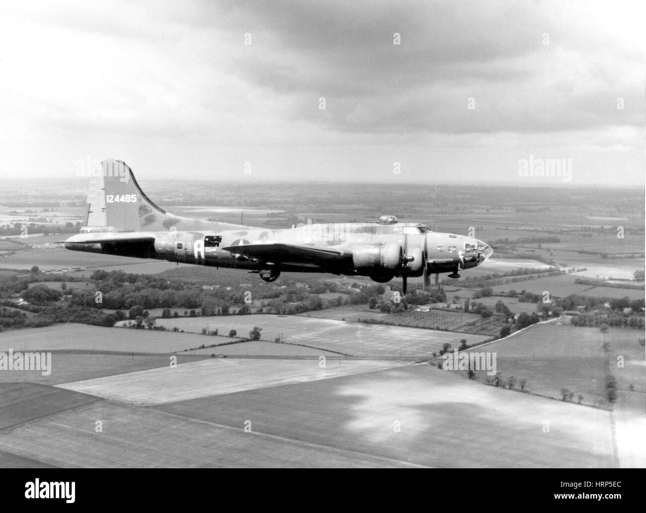 WWII, Boeing B-17 Flying Fortress, 1943 Stock Photo