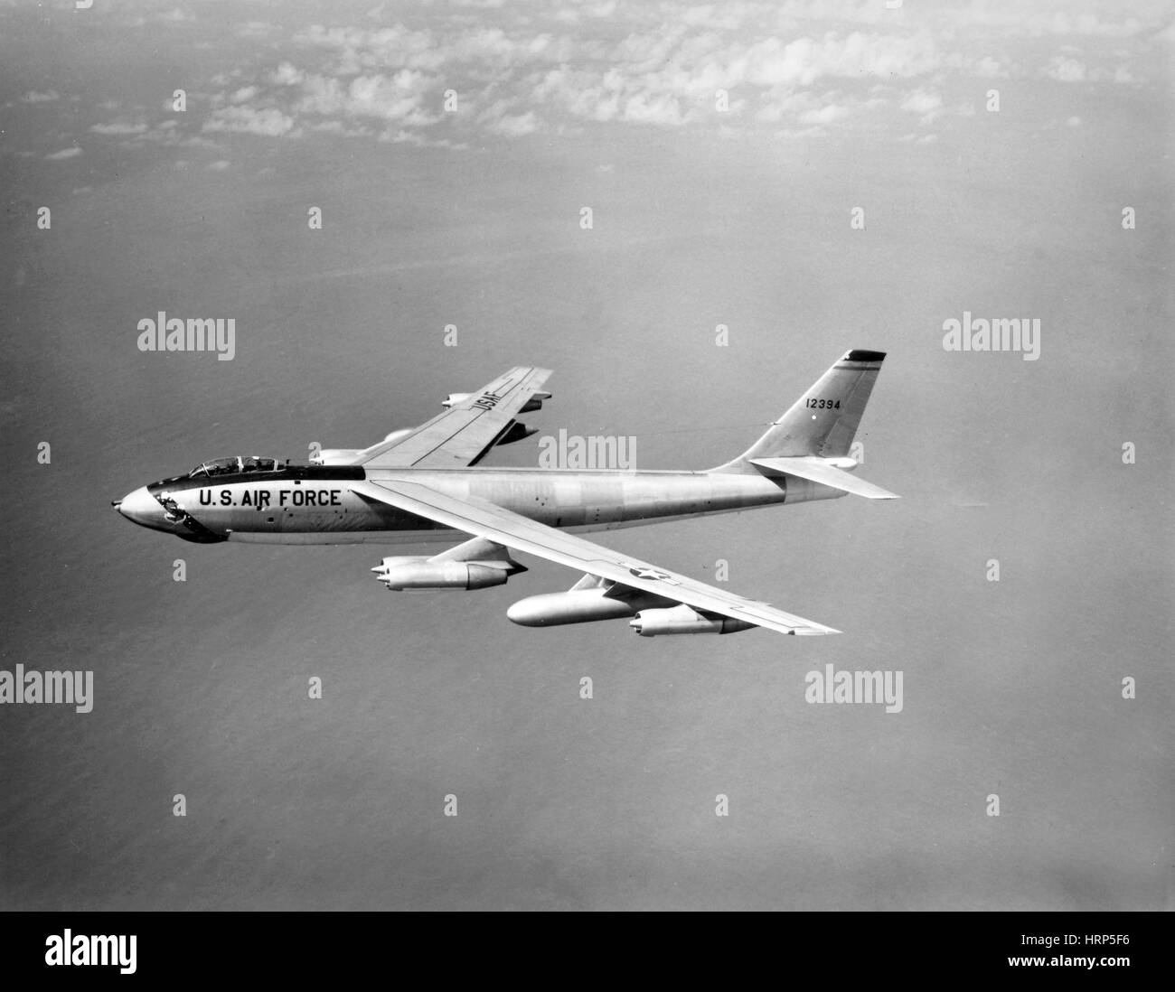 Boeing B-47 Stratojet, Wing-Swept Bomber, 1956 Stock Photo