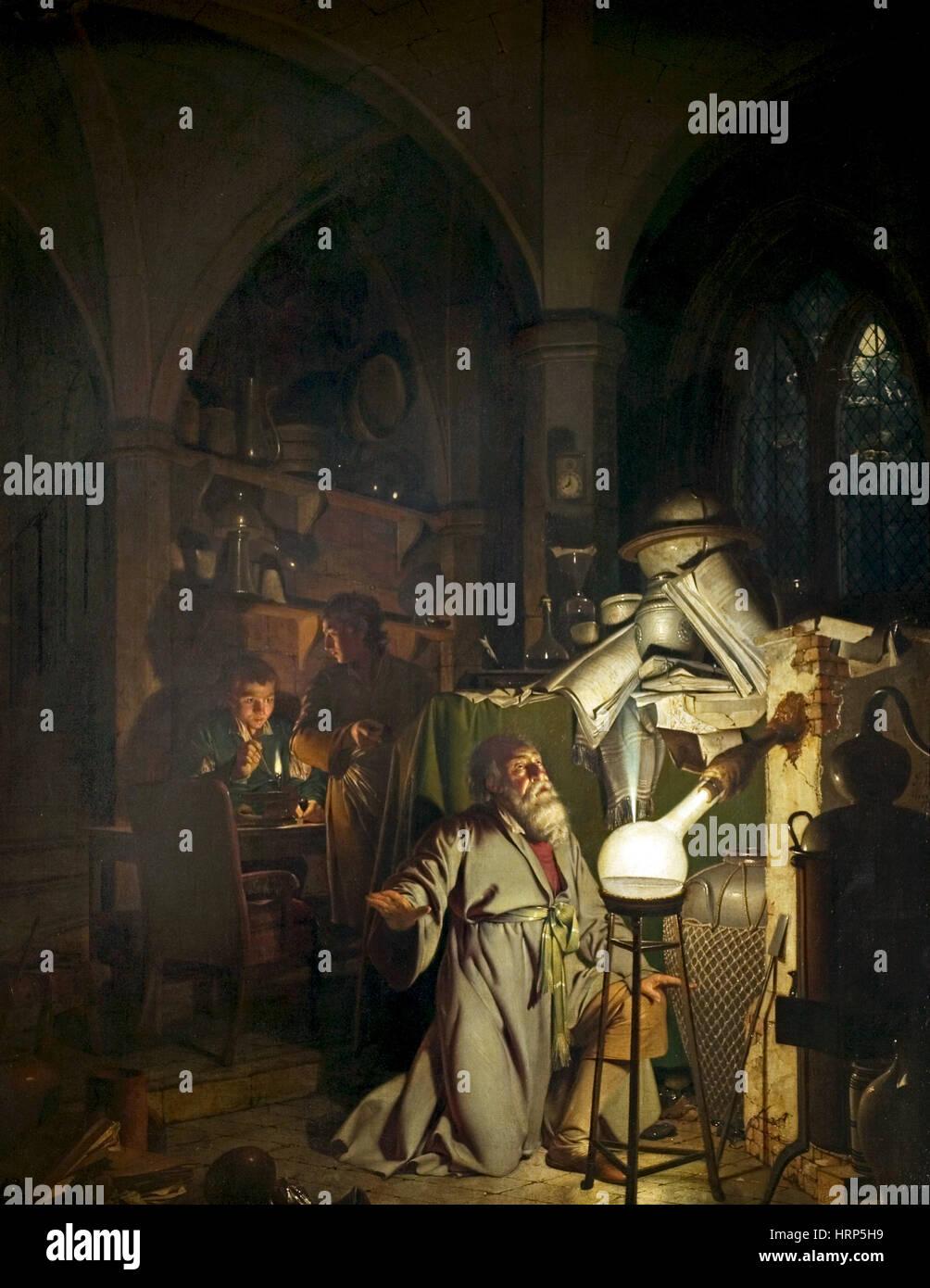 Hennig Brand, German Alchemist - Stock Image