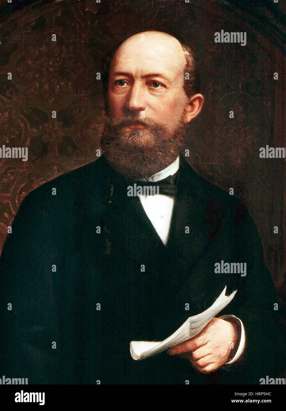 Friedrich Bayer, German Pharmaceutical Founder - Stock Image