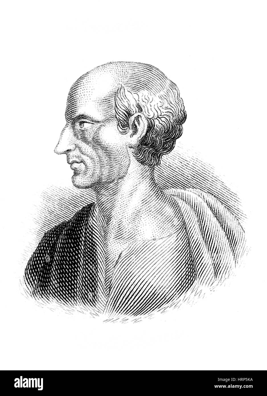 Antisthenes, Ancient Greek Philosopher - Stock Image