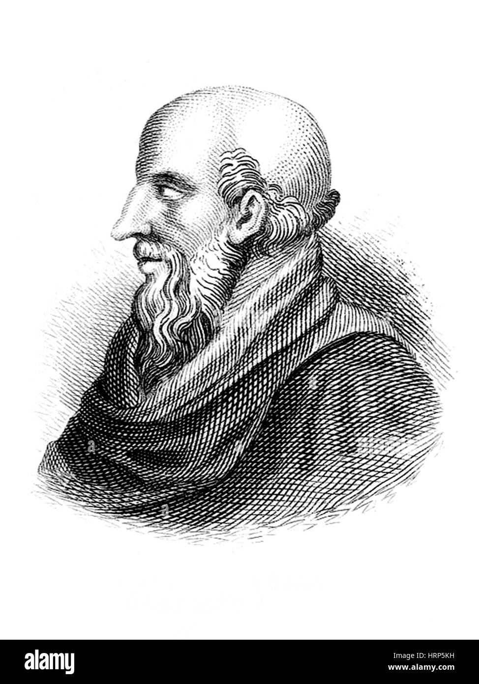Chrysippus, Ancient Greek Philosopher - Stock Image