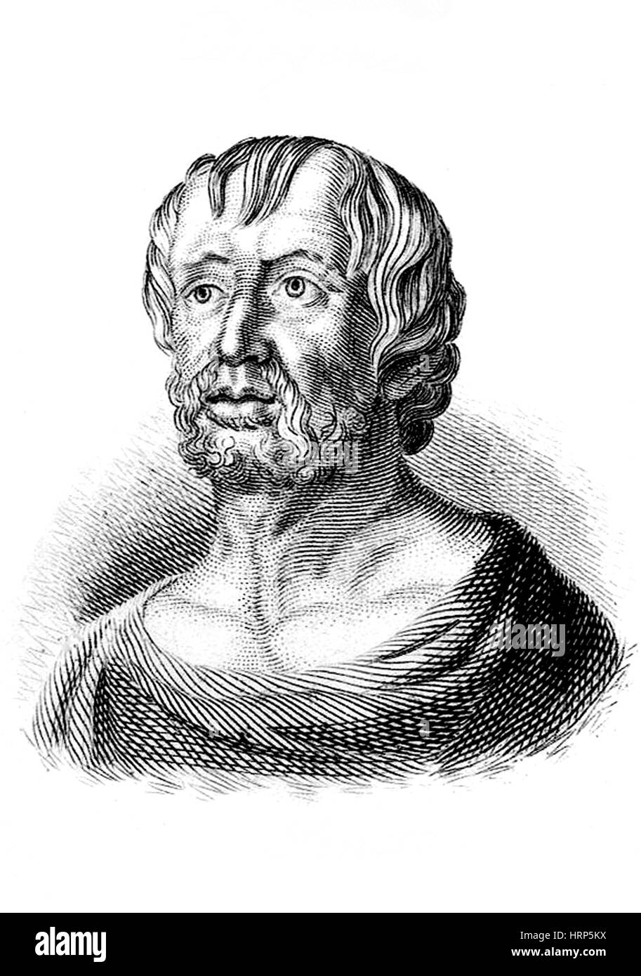 Seneca the Younger, Ancient Roman Philosopher - Stock Image