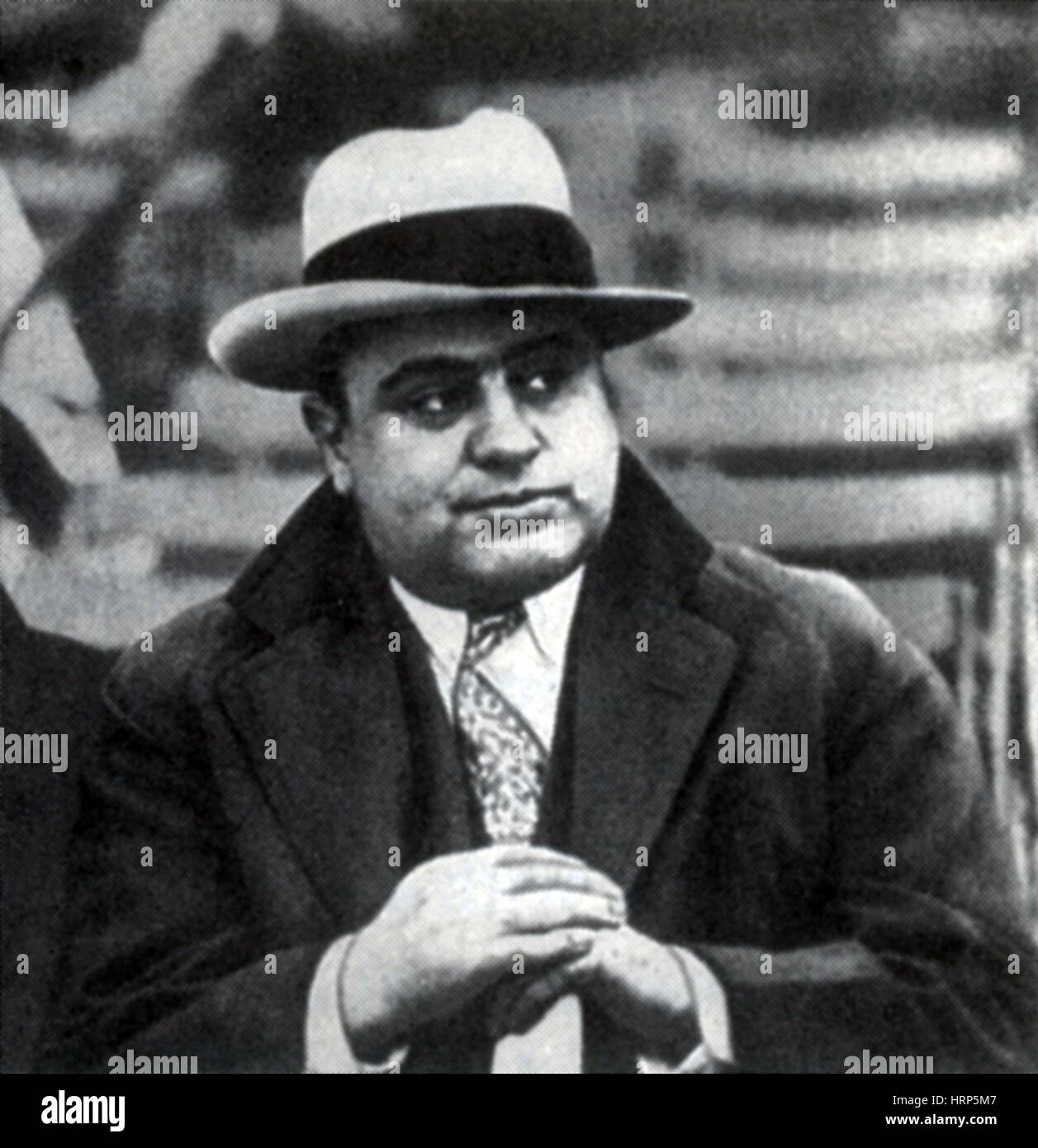 Al Capone, American Mobster - Stock Image