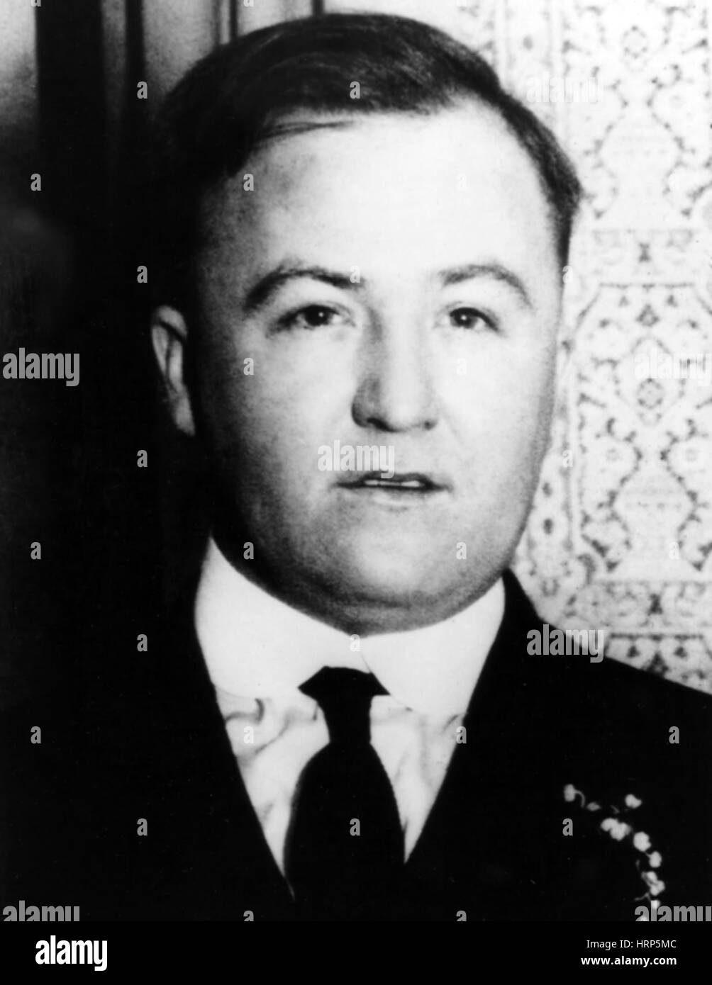 Charles O'Banion, Irish-American Mobster Stock Photo