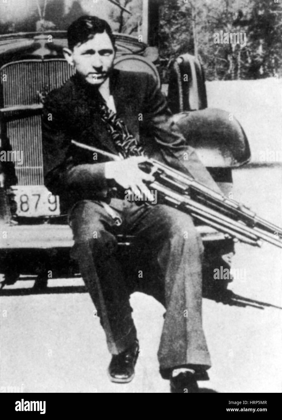 Clyde Barrow, American Criminal - Stock Image