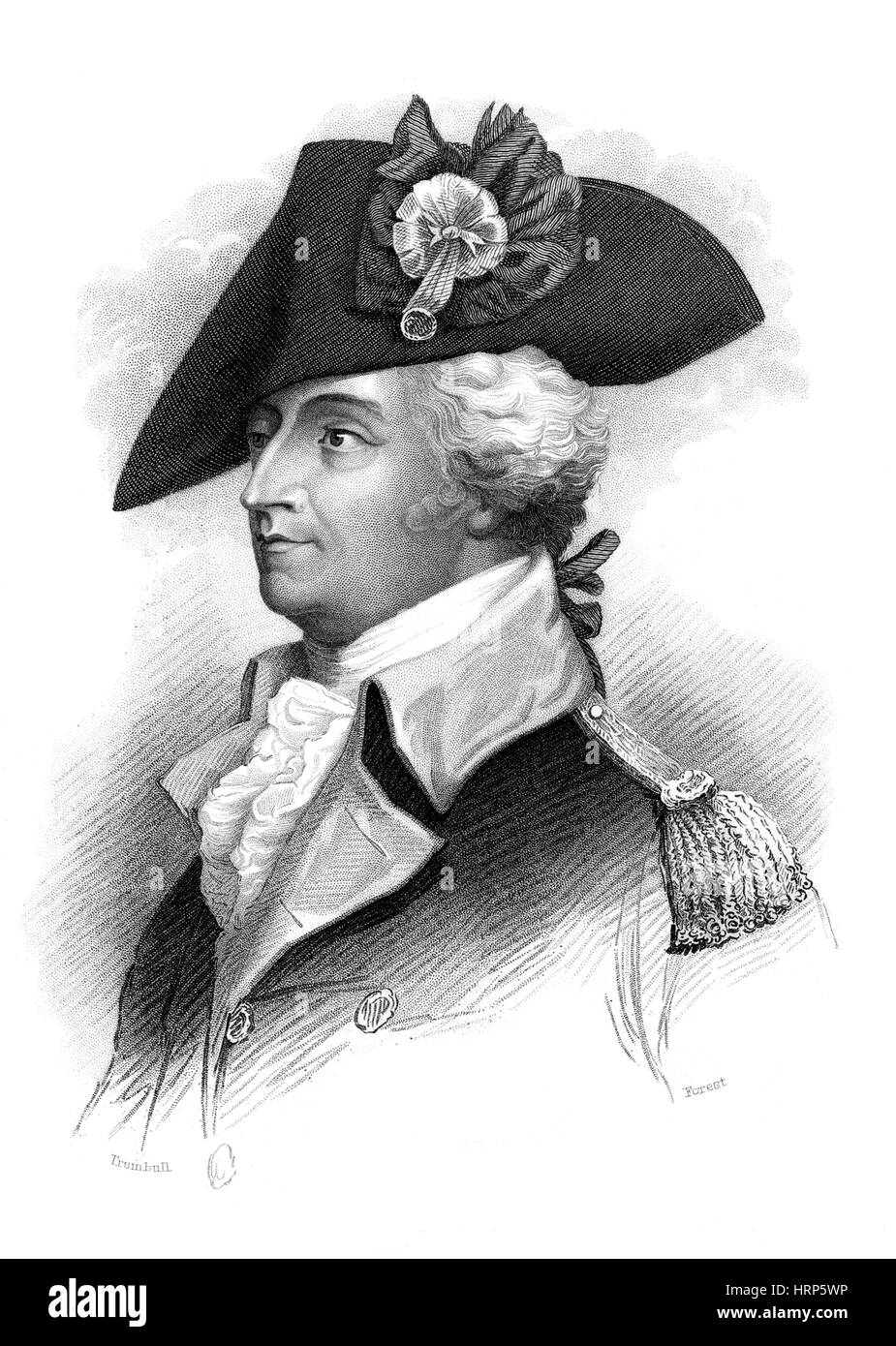 Anthony Wayne, American Military Officer - Stock Image