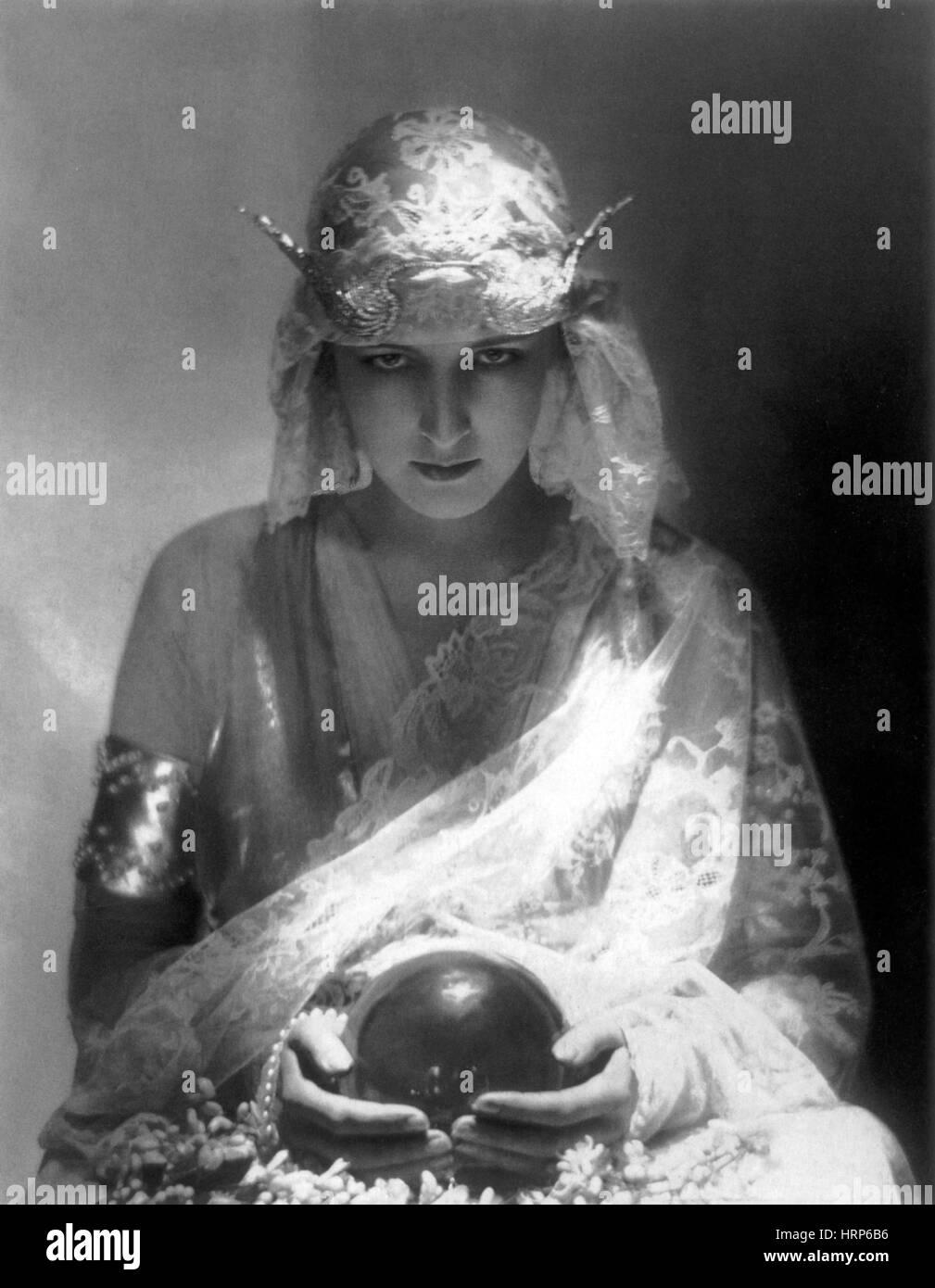 Fortune Teller, 1921 - Stock Image