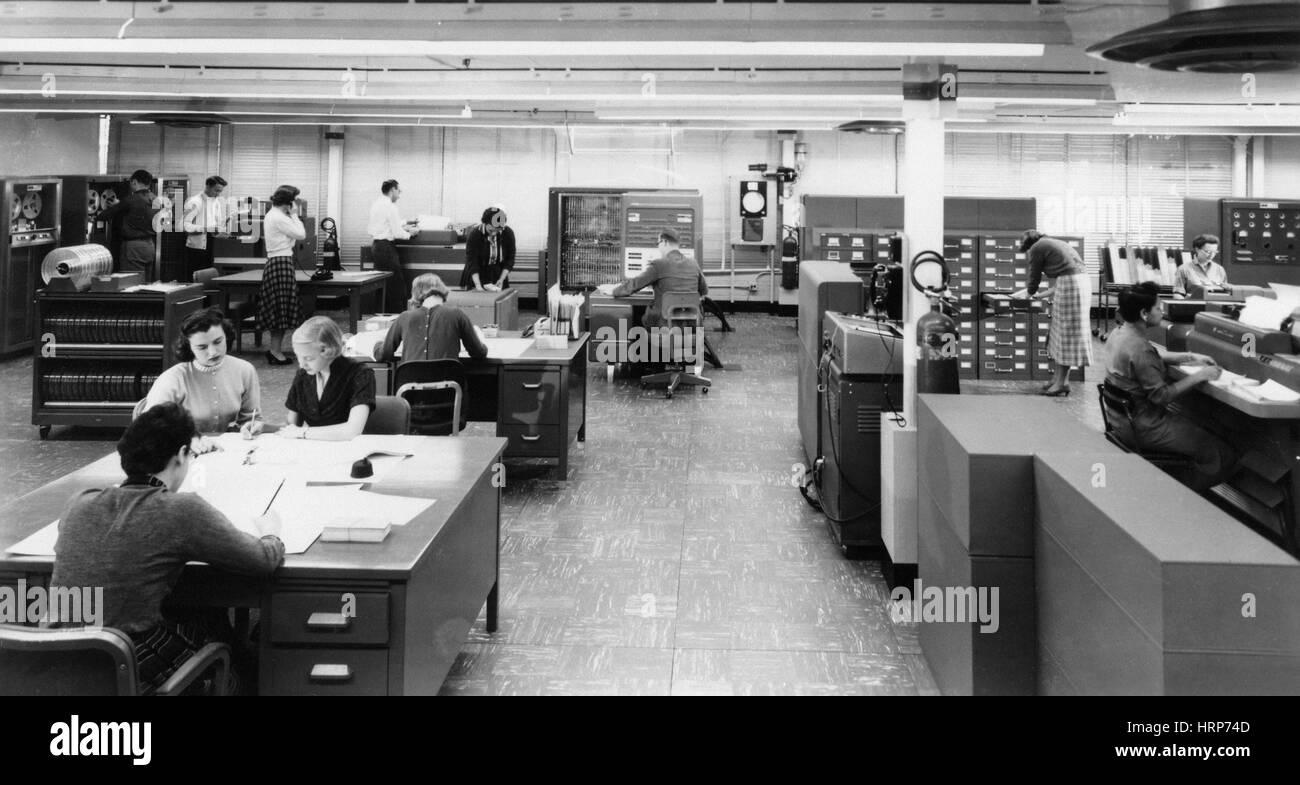 Early NASA 'Human Computers' - Stock Image