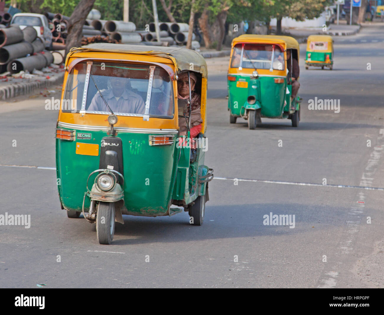 4550 Miles From Delhi >> Indian Tuk Tuk Stock Photos & Indian Tuk Tuk Stock Images - Alamy