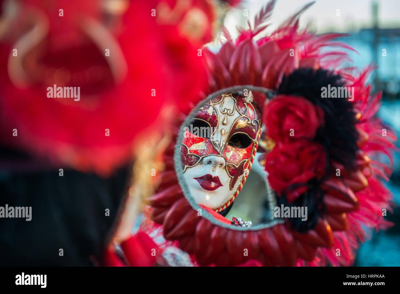 Golden Venetian Carnival Mask Stock Photos & Golden Venetian ...