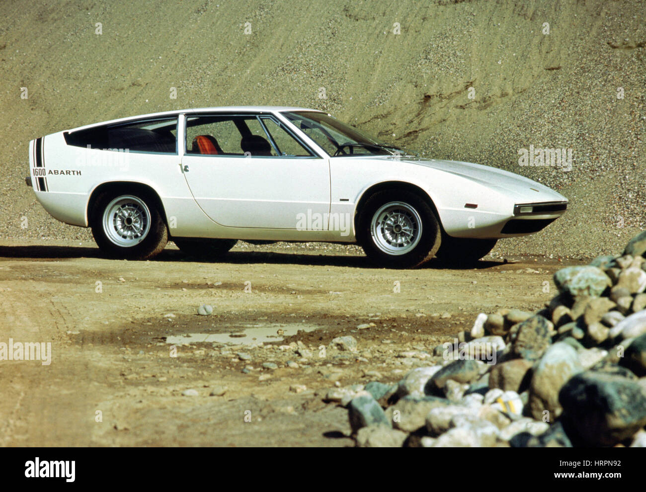 1969 Fiat Arbarth - Stock Image