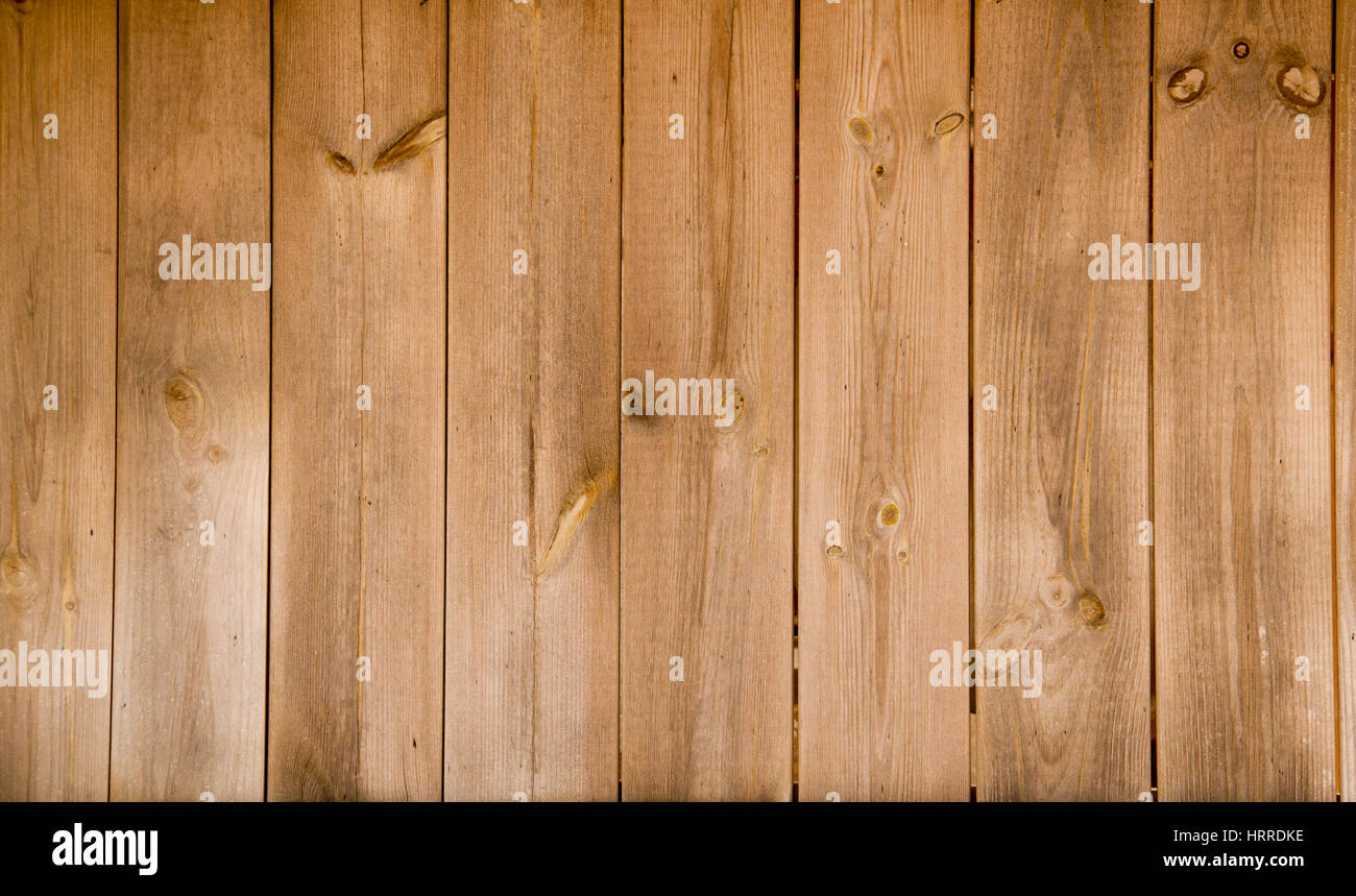 Natural Wooden  background (Fence) - Stock Image