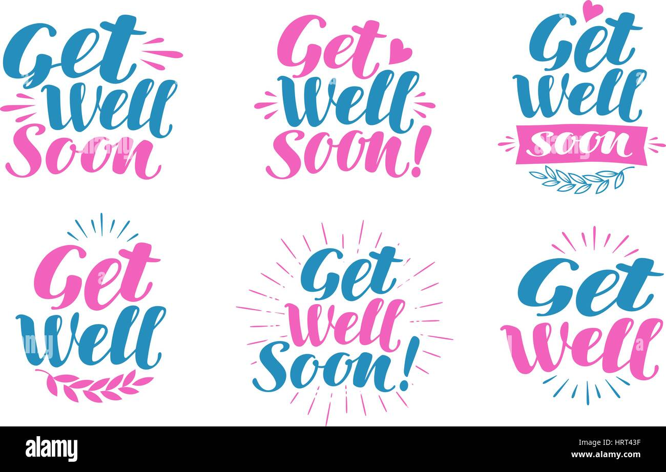 Get Well Soon Stock Photos Get Well Soon Stock Images Alamy