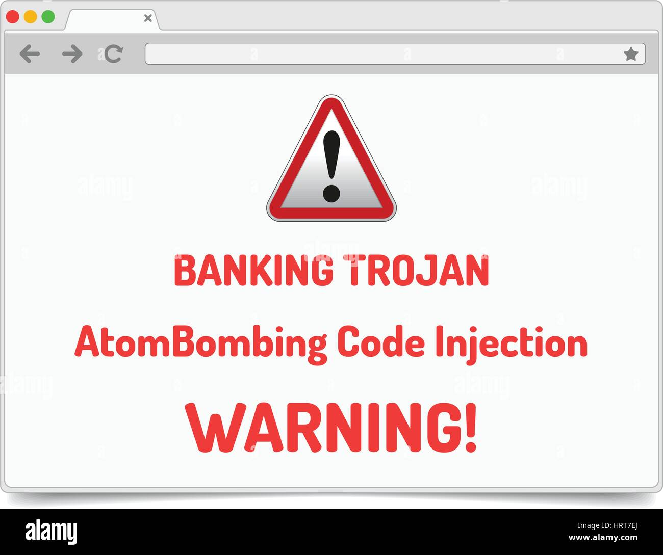 Banking Trojan - Warning sign - bank account hacking, email