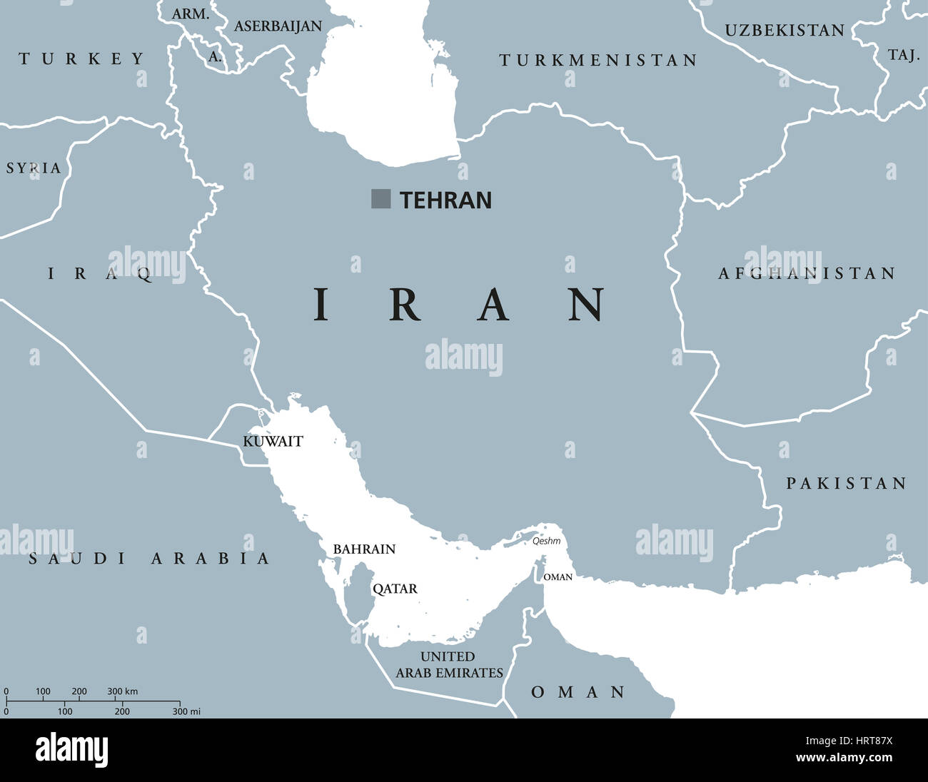 Iran political map with capital tehran national borders and stock iran political map with capital tehran national borders and stock photo 135143006 alamy gumiabroncs Images
