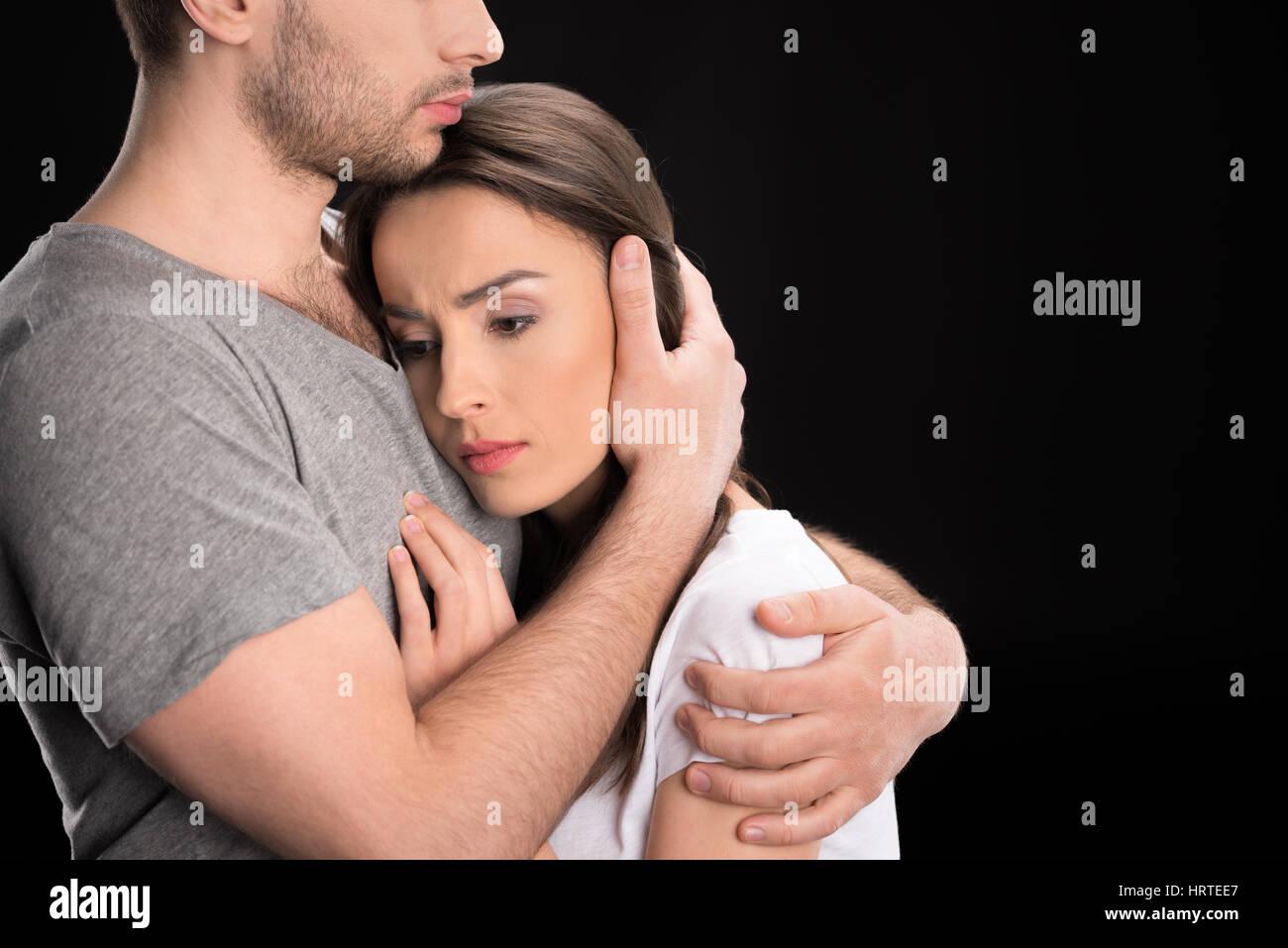 Man hugging woman  Decoding a Man's Hug  2019-07-09
