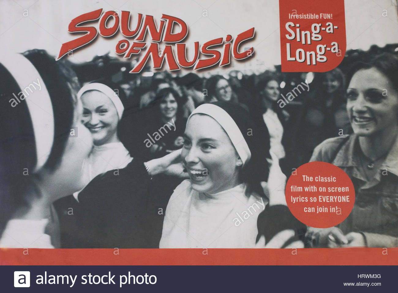 Movie Promotional poster for the film The sound of music - Stock Image