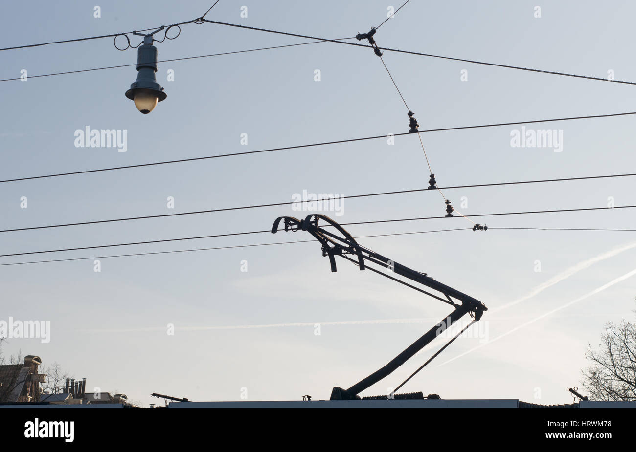Tram Wire Stock Photos & Tram Wire Stock Images - Alamy