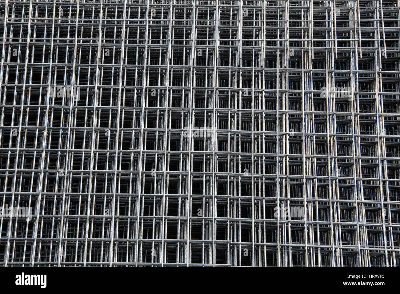 Reinforcement Nets - Stock Image
