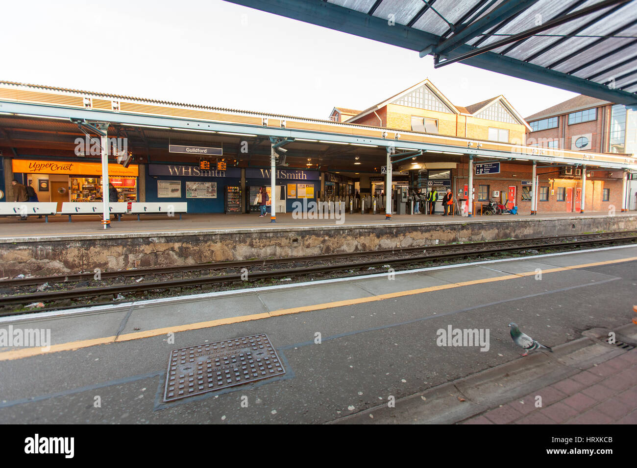 Guildford Railway Station Stock Photos Amp Guildford Railway
