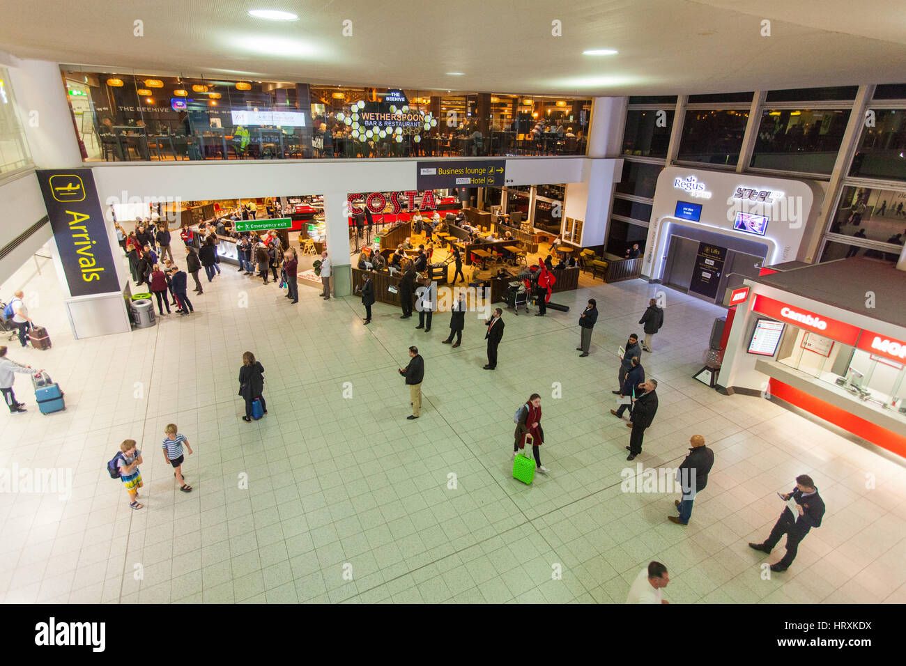 North terminal , Gatwick Airport, England, United Kingdom. - Stock Image
