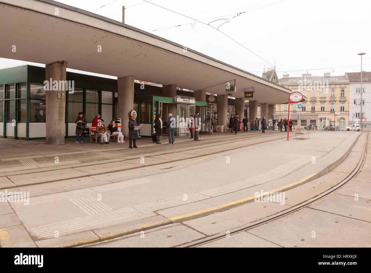 Hietzing Station , Vienna, Austria. - Stock Image