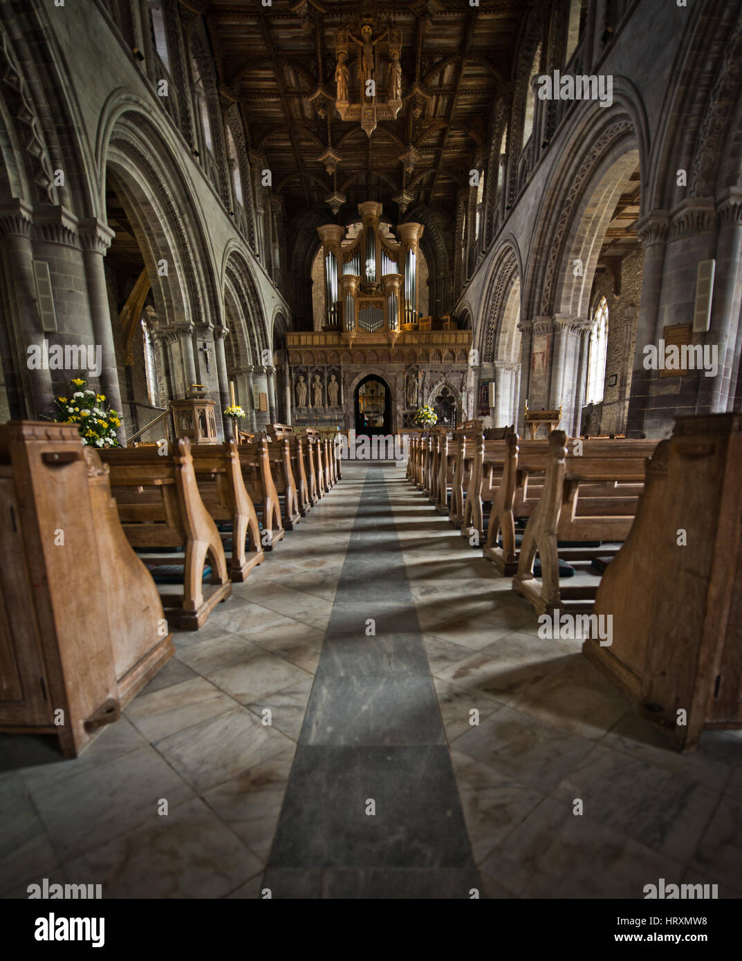 St Davids Cathedral Stock Photo