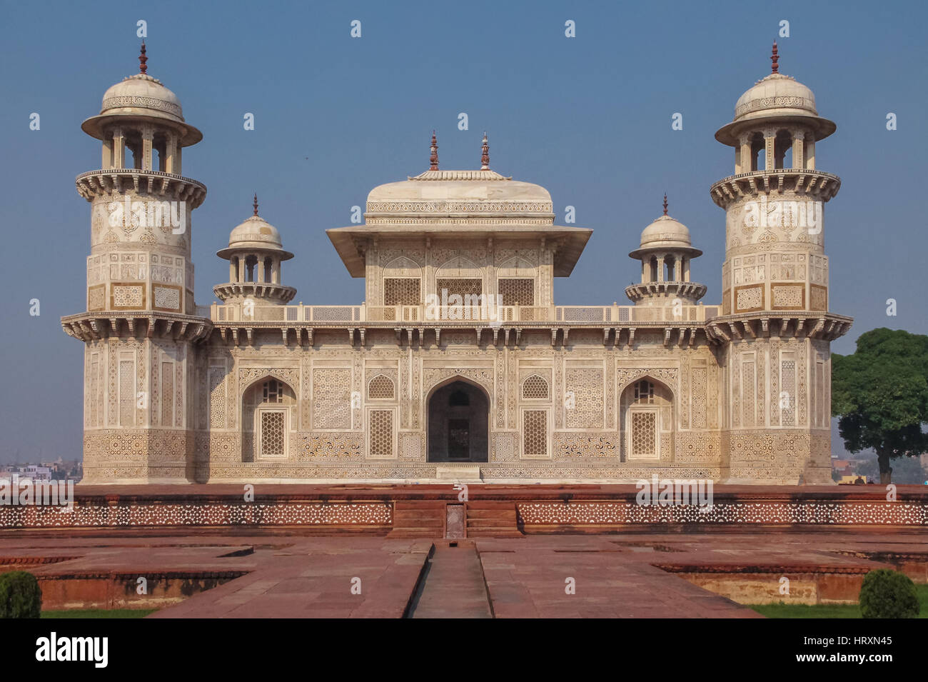 Itmad-Ud-Daulah's Tomb - Agra, India Stock Photo